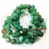 หิน green agate 10มิล (39 เม็ด)