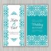 การ์ดแต่งงาน Wedding card สไตล์การออกแบบดีไซน์โดยใช้สีขาวกับสีฟ้ามาตกแต่งและจัดวางรายละเอียดด้วยโทนสีดำอย่างลงตัว การ์ดงานแต่ง ไว้สำหรับ เรียนเชิญแขกผู้มีเกียรติเข้ามาร่วมงานแต่งงาน // ตัวอย่างดีไซน์ การ์ดแต่งงาน การ์ดเชิญ การ์ดสวยๆ