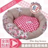MU0134 ที่นอน เบาะนอนสำหรับสัตว์เลี้ยง เบาะนอนหมา แมว ตัวเบาะและเนื้อผ้านุ่มสบาย น่าสัมผัส ลายดอกไม้
