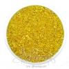 ลูกปัดเม็ดทราย 8/0 โทนรุ้ง สีเหลือง (100 กรัม)