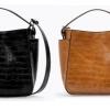 กระเป๋าแบรนด์ ZARA TRF CROC BUCKET BAG