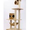 MU0088 คอนโดแมวสี่ชั้น ต้นไม้แมว บ้านอุโมงค์ กระบะนอน เชือกให้ปีนออกกำลังกาย สูง 160 cm