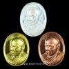 ชุดเหรียญเม็ดแตง รูปเหมือน ญสส. 100 พรรษา สมเด็จพระญาณสังวร สมเด็จพระสังฆราช วัดบวรนิเวศวิหาร ปี 2556
