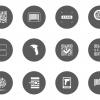 ฉลากป้ายประชาสัมพันธ์ สไตล์การออกแบบดีไซน์แบบเรียบๆแต่มีสไตล์ ฉลากไว้ใช้แปะกับสินค้าทั่วๆไปโดยใช้โค้ดไอดีไลน์ในการเช็คสินค้า // ตัวอย่างดีไซน์ สติ๊กเกอร์ฉลาก Chill Shop Package