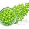 ลูกปัดมุกพลาสติก 8มิล สีเขียวตอง (450 กรัม)