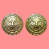 เหรียญมหาเมตตา มหาบารมี หลวงพ่อหวล วัดชาวเหนือ จ.ราชบุรี ปี 2554