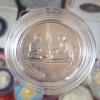 เหรียญสนทนาธรรม ในหลวง ร.๙ - สมเด็จพระญาณสังวร สมเด็จพระสังฆราช ปี 2543 เนื้อเงิน (1 ใน 87 เหรียญ)