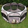 คอกสุนัขและแมว บ้านสุนัขและแมว กันยุง พับได้ น้ำหนักเบา พกพาสะดวก มีหลายสี ระบายอากาศได้ดี