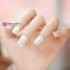 เล็บปลอม เกาหลี แฟชั่น สี Pearl White