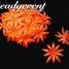 ดอกพิกุลพลาสติก 35มม. สีส้ม (10 กรัม)