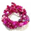 หิน Pink Agate 6มิล (60 เม็ด)