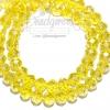 คริสตัลโมดาห์ 10มม. ทรงซาลาเปา สีเหืองดอกคูณ (72 เม็ด)