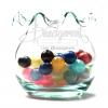 ลูกปัดมุกตราจระเข้ 8มิล คละสี (1 กิโลกรัม)