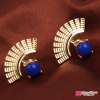 ต่างหุ แฟชั่น Lady Earrings ear stud Blue
