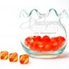 คริสตัลพลาสติก 10มิล สีส้ม (125 กรัม)