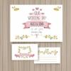 การ์ดแต่งงาน Wedding card สไตล์การออกแบบดีไซน์แบบโทนสีอ่อนๆแต่มีการจัดวางตัวอักษรได้อย่างสวยงาม การ์ดงานแต่ง ไว้สำหรับ เรียนเชิญแขกผู้มีเกียรติเข้ามาร่วมงานแต่งงาน // ตัวอย่างดีไซน์ การ์ดแต่งงาน การ์ดเชิญ การ์ดสวยๆ