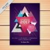 โปสเตอร์ Poster สไตล์การออกแบบดีไซน์แบบนำสามเหลี่ยมหลากหลายสีมาวางซ้อนกันโดยไม่บดบังรายละเอียด โปสเตอร์ ไว้สำหรับ แจ้งประชาสัมพันธ์กิจกรรม // ตัวอย่างดีไซน์ โปสเตอร์ Poster โปสเตอร์โฆษณา โปสเตอร์สวยๆ Chill Shop Package