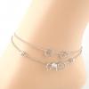สร้อยข้อเท้าเกาหลี Circle Women Ankle Bracelet