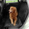 Black Plaid Cozy Pet Dog Travel Car Seat Cover Mat Blanket C