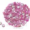เลื่อมกลม ทรงจาน 8มิล โทนมุก สีม่วงหวาน (500 กรัม)