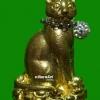 น้องแมวเรียกทรัพย์ รุ่น อายุวัฒนะ 90 หลวงปู่คำบุ วัดกุดชมภู กล่องเดิม