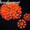 ดอกมะลิบาน ไซส์เล็ก 35มม. สีส้ม (500 กรัม)