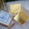 ขายส่ง มาร์คหน้าทองคำแท้ 99.99% (24K) ทองคำนวดหน้า พอกหน้าโดยเฉพาะ