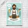 โปสเตอร์ Poster สไตล์การออกแบบดีไซน์โดยการนำเอาตัวการ์ตูนมาใส่ไว้ที่โปสเตอร์เพื่อเพิ่มความโดดเด่นสดุดตา โปสเตอร์ ไว้สำหรับ แจ้งประชาสัมพันธ์กิจกรรม // ตัวอย่างดีไซน์ โปสเตอร์ Poster โปสเตอร์โฆษณา โปสเตอร์สวยๆ Chill Shop Package
