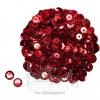 เลื่อมจานดิสโก้ 8มิล สีแดง (15 กรัม)