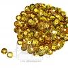 เลื่อมจานดิสโก้ 8มิล สีทอง (500 กรัม)