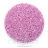 ลูกปัดเม็ดทราย 12/0 โทนมุก สีม่วง (100 กรัม)