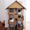 MU0009 บ้านแมวกระดาษลูกฟูก CAT HOUSE