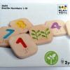 ของเล่นเพื่อพัฒนาการเรียนรู้ แผ่นตัวเลขอักษรเบลล์ 1-10