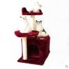 คอนโดแมวขนาดพอเหมาะกระทัดรัด ที่ลับเล็บแมว สูง 68 cm มีหลายสี