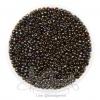 ลูกปัดเม็ดทราย 12/0 โทนมุก สีเมทาลิก (100 กรัม)