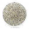 ลูกปัดเม็ดทราย 6/0 สีเงิน (100 กรัม)