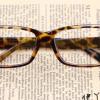 แว่นตาแฟชั่นเกาหลี สีน้ำตาลเสือดาว (ไม่มีเลนส์)