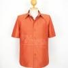 เสื้อสูทไหมแพรทอง สีส้มอิฐ ไซส์ S