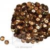 เลื่อมจานดิสโก้ 8มิล สีน้ำตาล (15 กรัม)