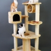 MU0005 คอนโดแมวห้าชั้น ต้นไม้แมว Classic & Deluxe Multifunction cat tree สูง 120 cm