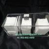 กล่องใส่สำลี แบบ 3 ช่อง ไซส์ ใหญ่