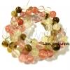 หิน Fire Cherry Quartz 10มิล (38 เม็ด)