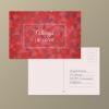 โปสการ์ด Postcard สไตล์การออกแบบดีไซน์แบบหรูหราด้วยโทนสีแดงทำให้โปสการ์ดดูหรูหรามีราคา โปสการ์ด ไว้สำหรับ ส่งบทความถึงคนสำคัญ // ตัวอย่างดีไซน์ โปสการ์ด Postcard พิมพ์โปสการ์ด โปสการ์ดสวยๆ Chill Shop Package