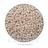 ลูกปัดเม็ดทราย 8/0 โทนมุก สีเนื้อ (100 กรัม)