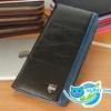 กระเป๋าสตางค์ผู้ชายใบยาว ML124 [สีดำ]