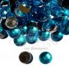 เพชรครึ่งซีก 10มม. ทรงกลม สีฟ้า (100 ชิ้น)