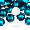 เพชรครึ่งซีก 10มม. สีฟ้า (20 ชิ้น)