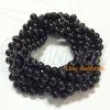 หิน นิลดำ(onyx) 6มิล (60 เม็ด)