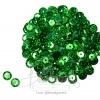 เลื่อมจานดิสโก้ 8มิล สีเขียว (15 กรัม)