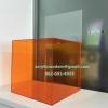 กล่องรับความคิดเห็น สีส้มโปร่ง